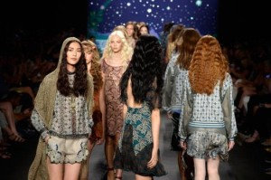 Anna Sui - Runway - Mercedes-Benz Fashion Week Spring 2014