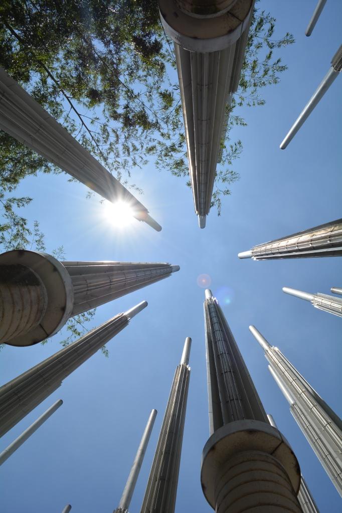 Parque de las luces symbolising Hope