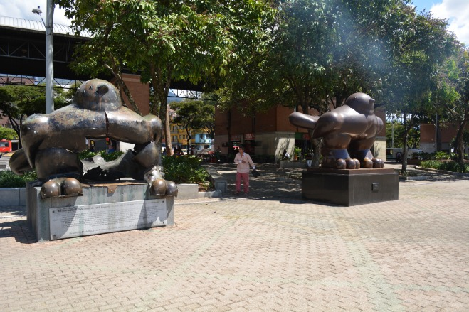 Symbolising the new and old Medellin