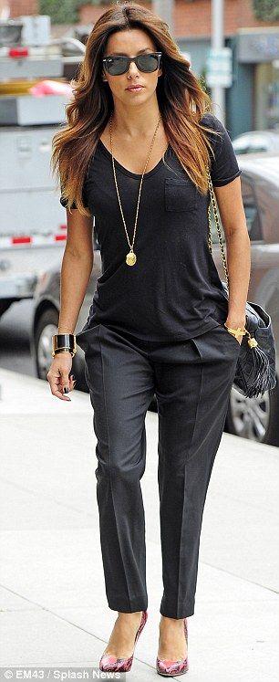 Eva Longoria Street Style Zizzle
