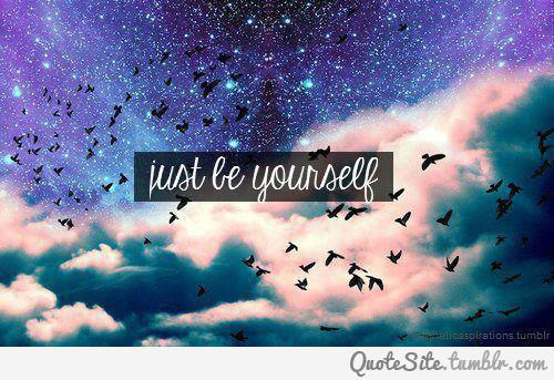 Just Be Yourself Zizzle