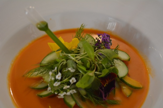 Gazpacho, Fen Restaurant and Cafe Sharjah